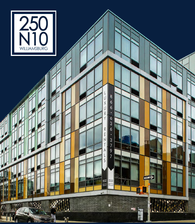 Exterior of the 250N10 property